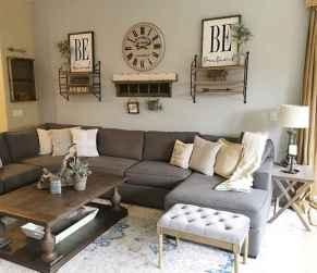 26 Cozy Modern Farmhouse Living Room Decor Ideas