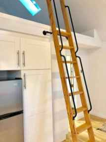 28 Clever Loft Stair Design for Tiny House Ideas