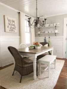 29 Beautiful Farmhouse Dining Room Table Design Ideas