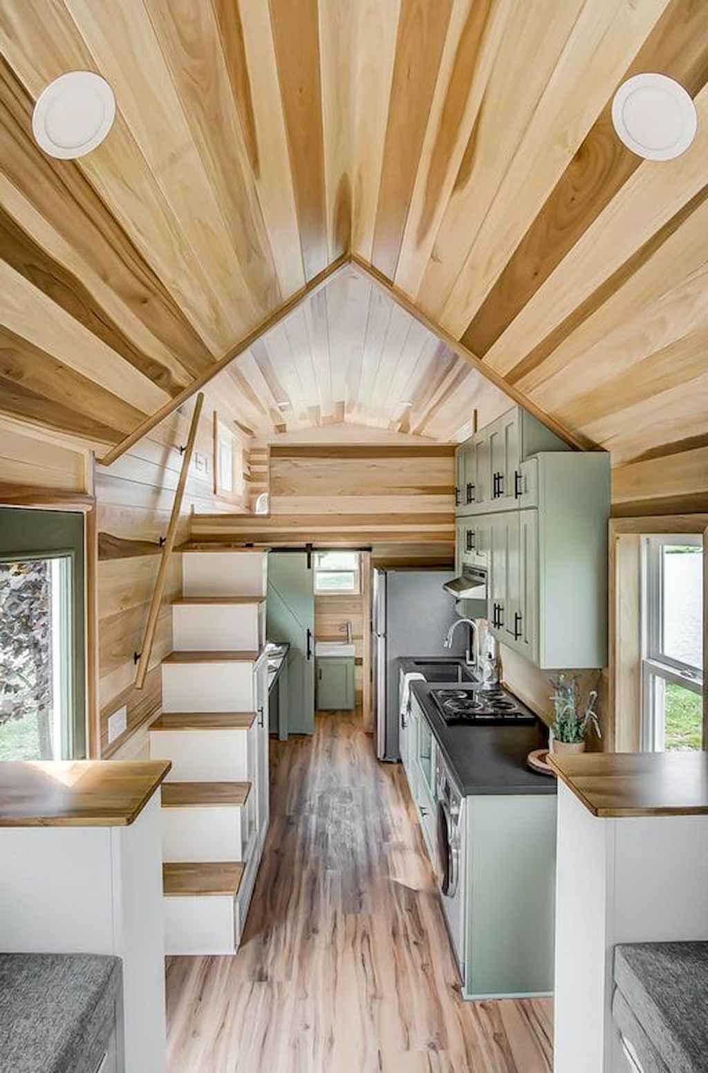 32 Tiny House Kitchen Storage Organization and Tips Ideas