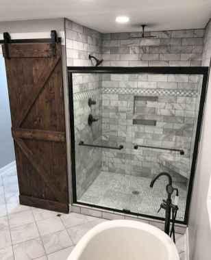 34 Modern Farmhouse Master Bathroom Remodel Ideas