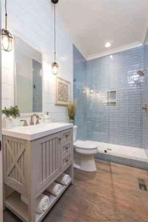 38 Cool Bathroom Shower Tile Remodel Design Ideas