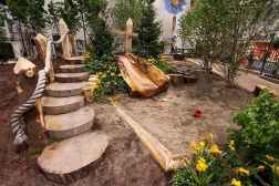 39 Exciting Small Backyard Playground Kids Design Ideas