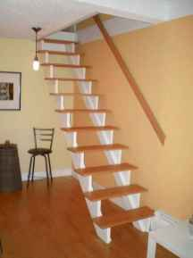 40 Clever Loft Stair Design for Tiny House Ideas
