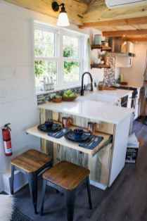 40 Tiny House Kitchen Storage Organization and Tips Ideas
