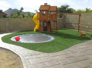 42 Exciting Small Backyard Playground Kids Design Ideas