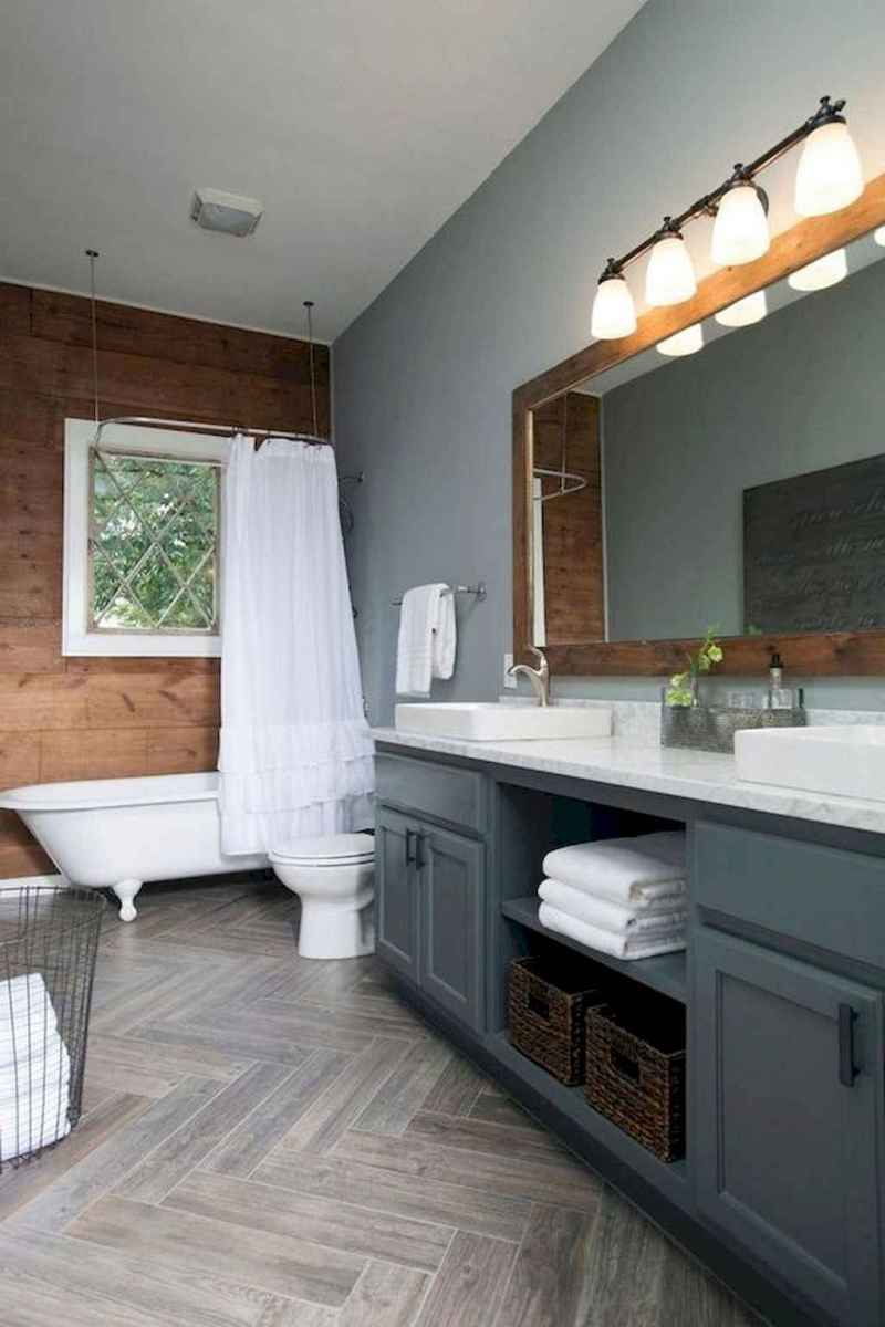44 Modern Farmhouse Master Bathroom Remodel Ideas