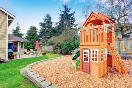 45 Exciting Small Backyard Playground Kids Design Ideas