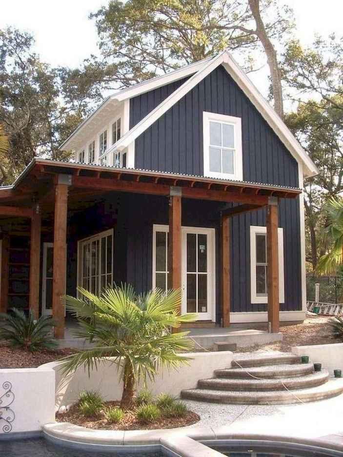 48 Awesome Modern Farmhouse Exterior Design Ideas