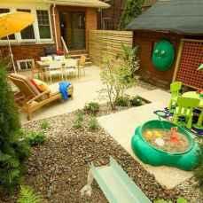 48 Exciting Small Backyard Playground Kids Design Ideas