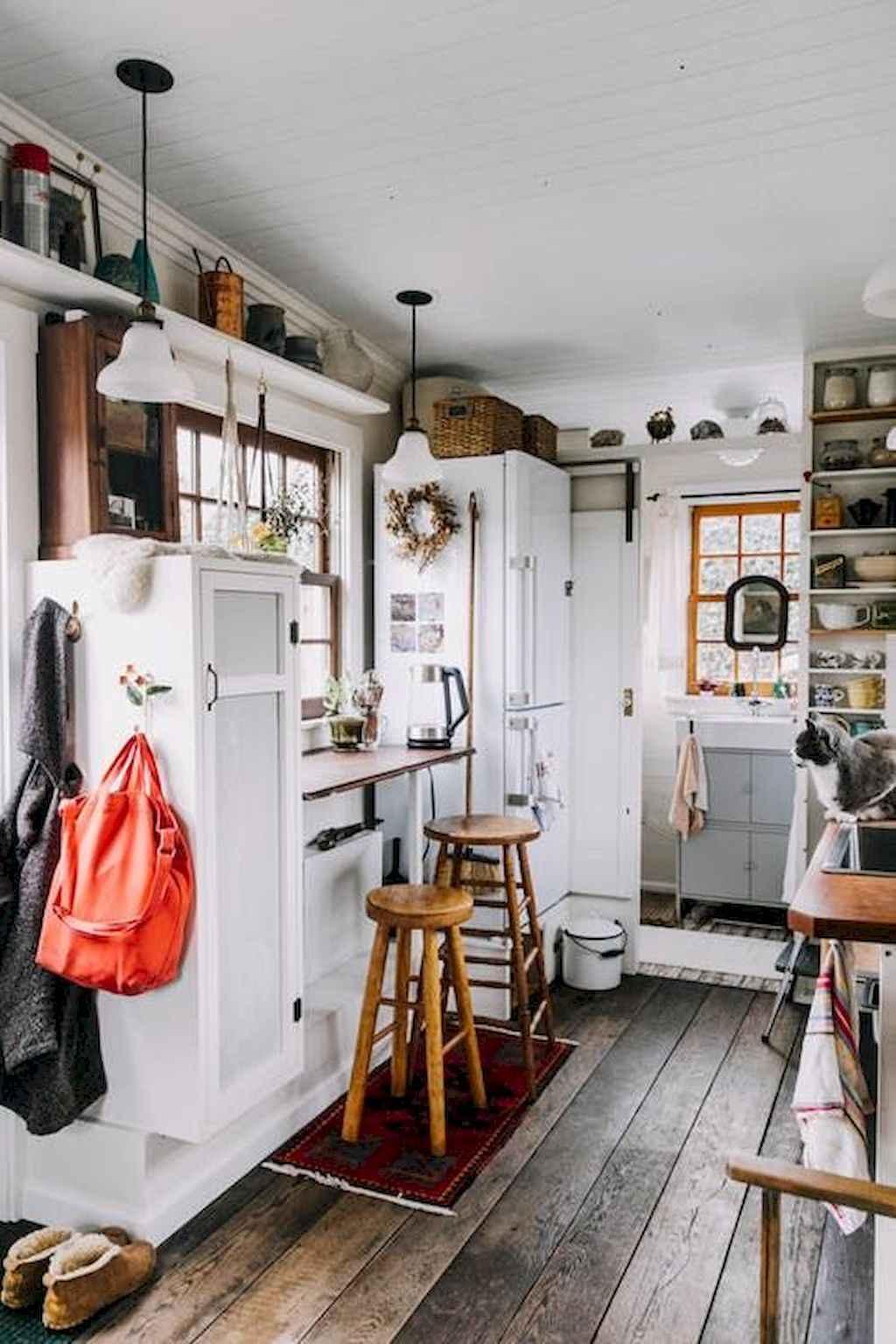 48 Tiny House Kitchen Storage Organization and Tips Ideas