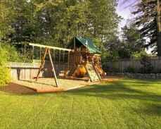 49 Exciting Small Backyard Playground Kids Design Ideas
