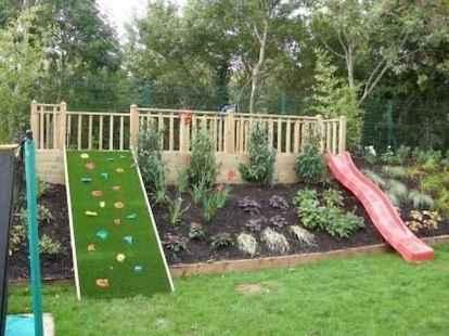 50 Exciting Small Backyard Playground Kids Design Ideas