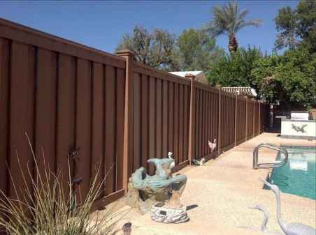 54 DIY Backyard Privacy Fence Design Ideas on A Budget