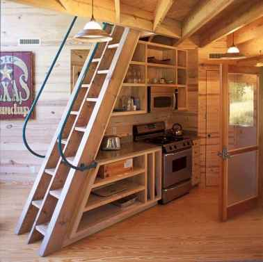 56 Clever Loft Stair Design for Tiny House Ideas