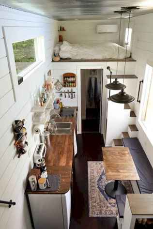 56 Cool Tiny House Interior Design Ideas