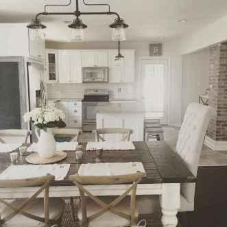 57 Beautiful Farmhouse Dining Room Table Design Ideas