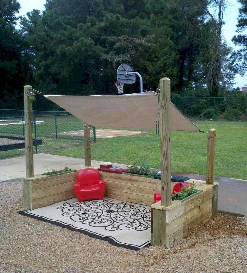 58 Exciting Small Backyard Playground Kids Design Ideas