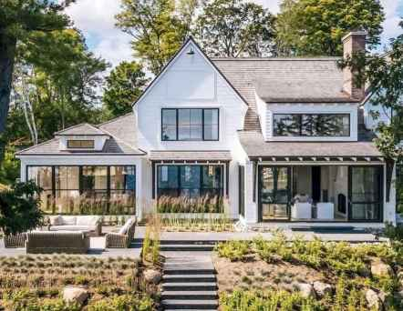 60 Awesome Modern Farmhouse Exterior Design Ideas
