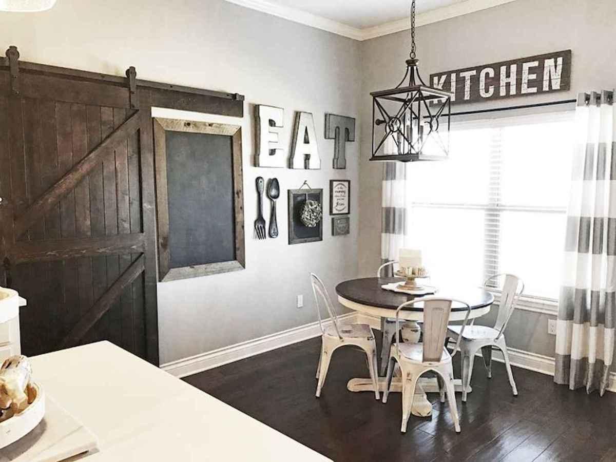 62 Beautiful Farmhouse Dining Room Table Design Ideas