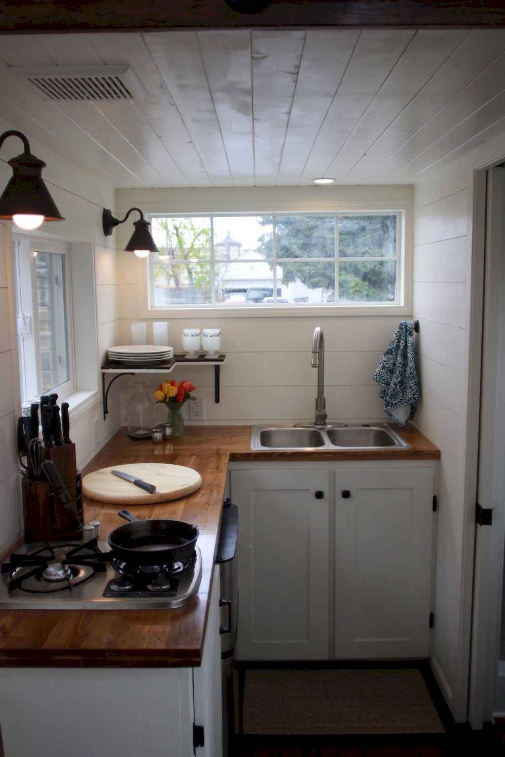 62 Tiny House Kitchen Storage Organization and Tips Ideas