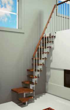 63 Clever Loft Stair Design for Tiny House Ideas