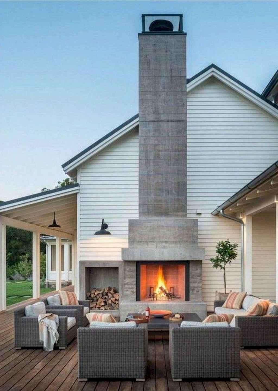 69 Awesome Modern Farmhouse Exterior Design Ideas