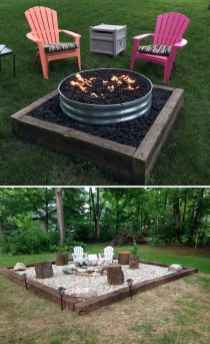 03 Easy Backyard Fire Pit with Cozy Seating Area Ideas