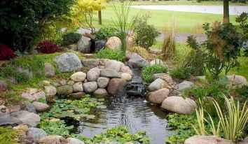 03 Unique Backyard Garden Water Feature Landscaping Ideas