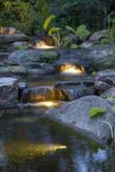 04 Unique Backyard Garden Water Feature Landscaping Ideas