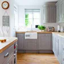 05 Incredible Farmhouse Gray Kitchen Cabinet Design Ideas