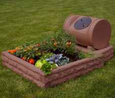 07 Easy DIY Raised Garden Bed Design Front and Backyard Landscaping Ideas