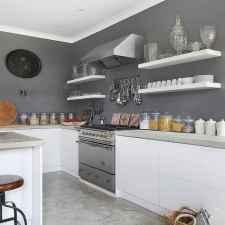 07 Incredible Farmhouse Gray Kitchen Cabinet Design Ideas