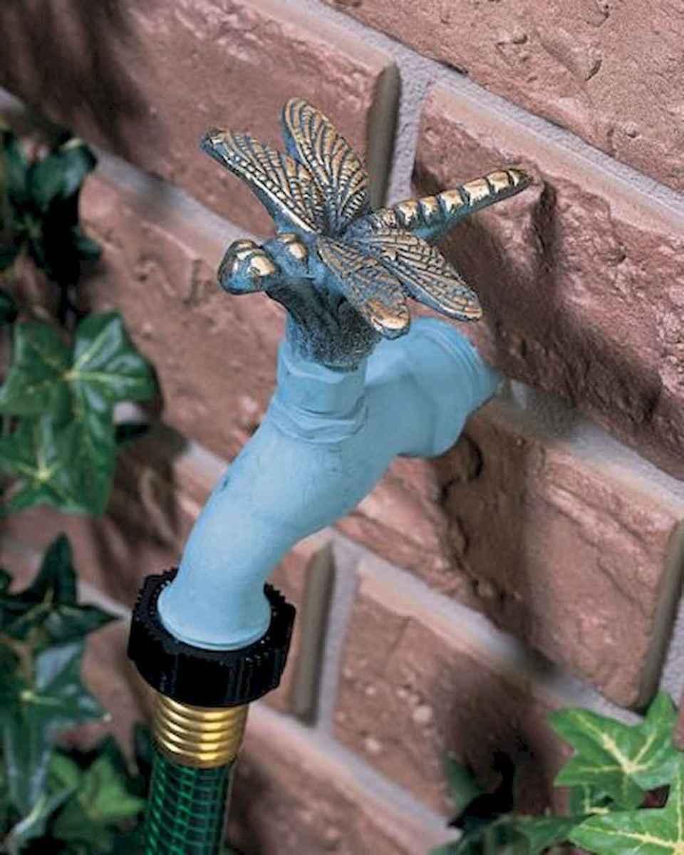 07 Inspiring Faucet Garden Decor for Front and Backyard Ideas