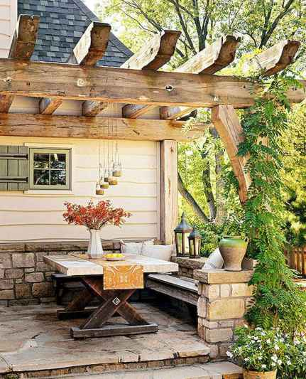 09 Awesome Small Patio on Budget Design Ideas