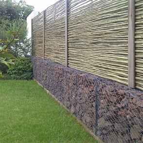 09 Fabulous Gabion Fence Design for Garden Landscaping Ideas