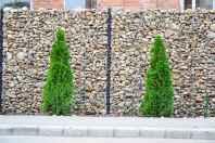 10 Fabulous Gabion Fence Design for Garden Landscaping Ideas