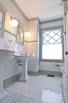 15 Awesome Farmhouse Bathroom Tile Floor Decor Ideas