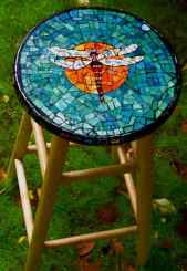 15 Excellent DIY Mosaic Garden Decoration Ideas for Front and Backyard Landscaping