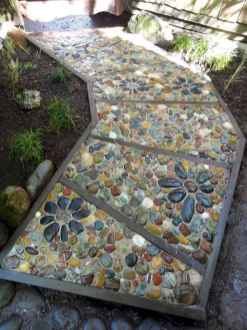 16 Beautiful DIY Mosaic Garden Path Decorations For Your Landscape Inspiration