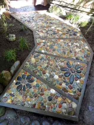 16 Beautiful DIY Mosaic Garden Path Decorations For Your Landscape Inspiration