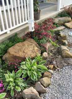 19 Awesome Front Yard Rock Garden Landscaping Ideas
