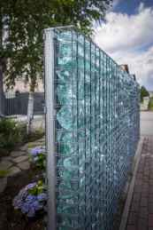 19 Fabulous Gabion Fence Design for Garden Landscaping Ideas