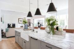 21 Incredible Farmhouse Gray Kitchen Cabinet Design Ideas