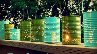 23 Easy and Creative DIY Outdoor Lighting Ideas