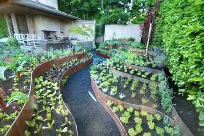 27 Easy DIY Raised Garden Bed Design Front and Backyard Landscaping Ideas