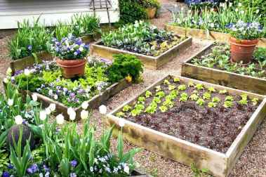 28 Easy DIY Raised Garden Bed Design Front and Backyard Landscaping Ideas