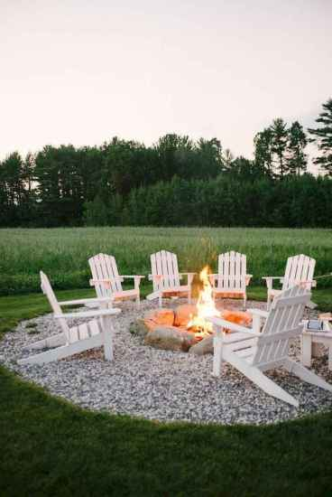 30 Easy Backyard Fire Pit with Cozy Seating Area Ideas