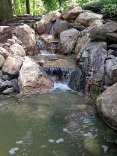 30 Unique Backyard Garden Water Feature Landscaping Ideas