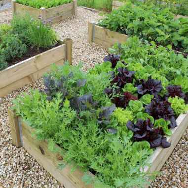 32 Easy DIY Raised Garden Bed Design Front and Backyard Landscaping Ideas